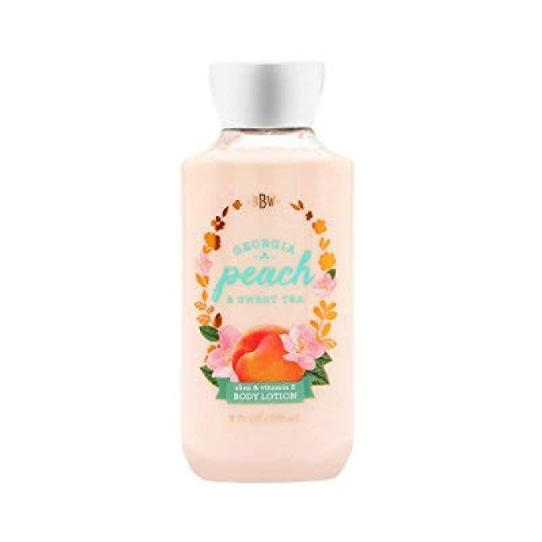 【Bath&Body Works/バス&ボディワークス】 ボディローション ジョージアピーチ&スイートティー Body Lotion Georgia Peach & Sweet Tea 8 fl oz / 236 mL...