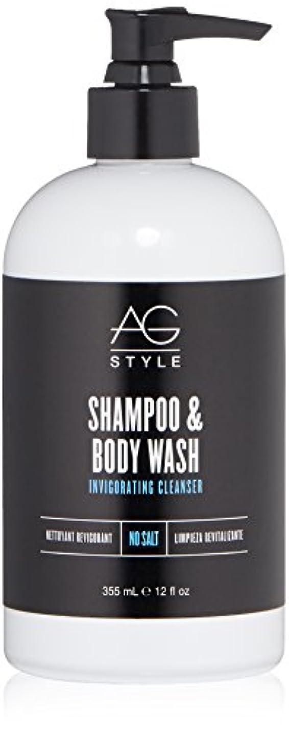 落ち着かないかけがえのない機動AG Hair スタイルシャンプー&ボディウォッシュ爽快クレンザー12液量オンス 12 fl。オンス