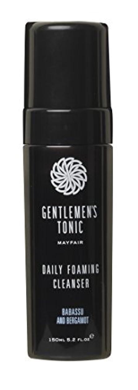 吸うブロンズ売り手Gentlemen's Tonic ジェントルメンズトニック Foaming Facial Cleanser(フォーミングフェイシャルクレンザー) 175ml