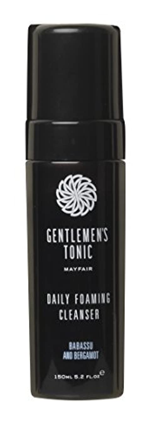特定の物理的に傭兵Gentlemen's Tonic ジェントルメンズトニック Foaming Facial Cleanser(フォーミングフェイシャルクレンザー) 175ml