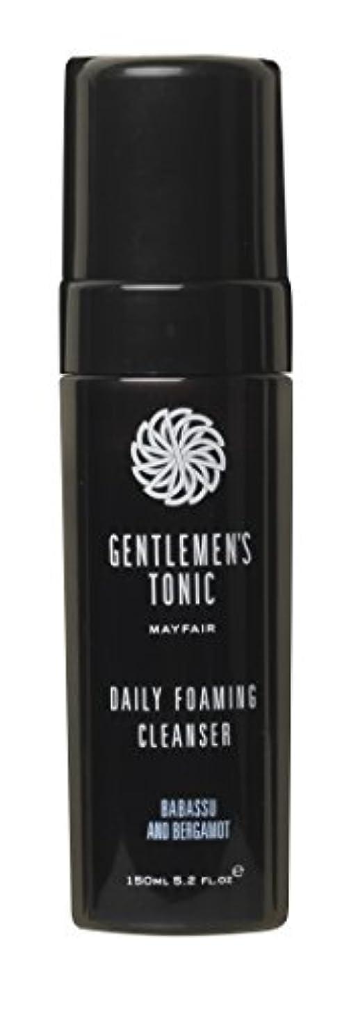 Gentlemen's Tonic ジェントルメンズトニック Foaming Facial Cleanser(フォーミングフェイシャルクレンザー) 175ml