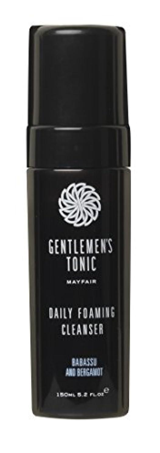 暴露連合失効Gentlemen's Tonic ジェントルメンズトニック Foaming Facial Cleanser(フォーミングフェイシャルクレンザー) 175ml