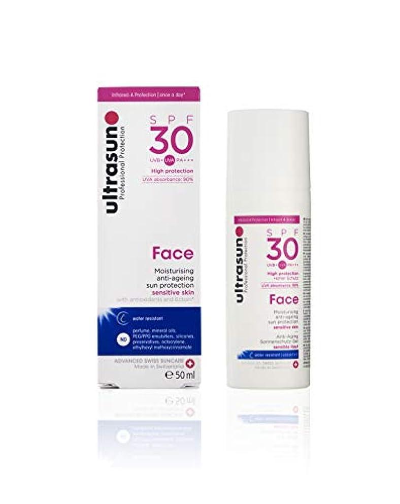 対人路地コックアルトラサン 日焼け止めローション フェイス UV 敏感肌用 SPF30 PA+++ トリプルプロテクション 50mL