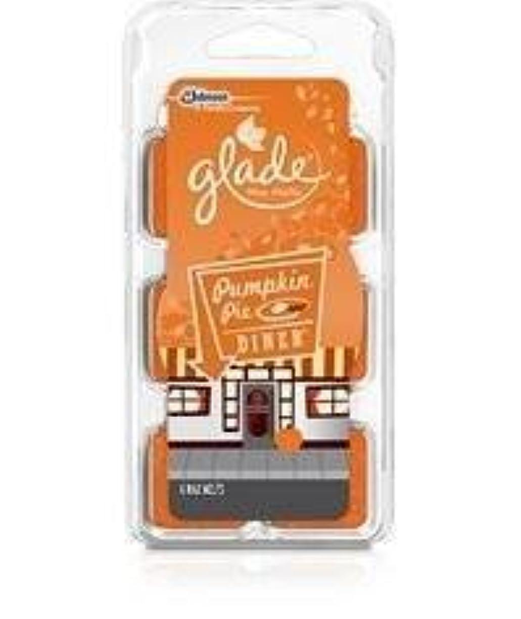 エチケット書き出す白いGladeワックスMelts – Limited Edition冬コレクションfor the Holidays ( 3、パンプキンパイDiner ) by SCジョンソン