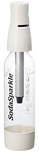 SodaSparkle ホームソーダメーカー 1L レシピ付き 炭酸  ホワイト SSK001-WH