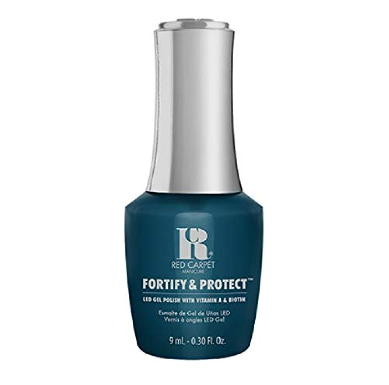 ブルゴーニュ主張する分散Red Carpet Manicure - Fortify & Protect - A-List Attitude - 9ml / 0.30oz