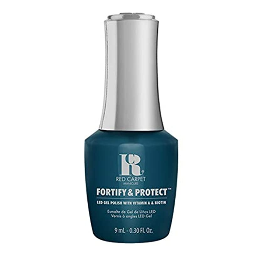 有効な味方アルコールRed Carpet Manicure - Fortify & Protect - A-List Attitude - 9ml / 0.30oz