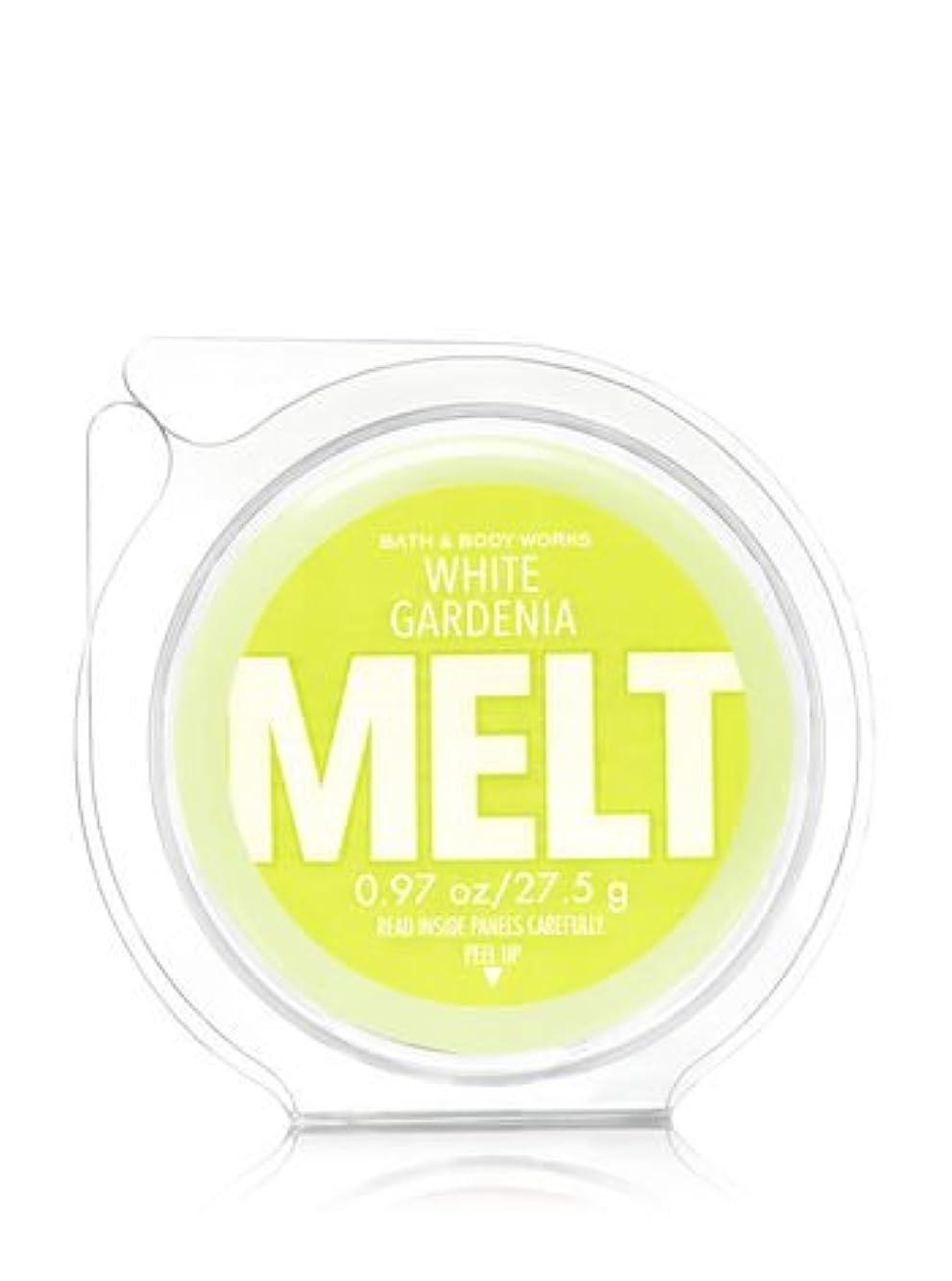 半球収容する振るう【Bath&Body Works/バス&ボディワークス】 フレグランスメルト タルト ワックスポプリ ホワイトガーデニア Wax Fragrance Melt White Gardenia 0.97oz/27.5g