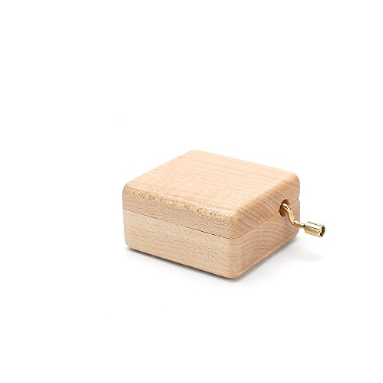 家具パーツ木製の春のオルゴール。