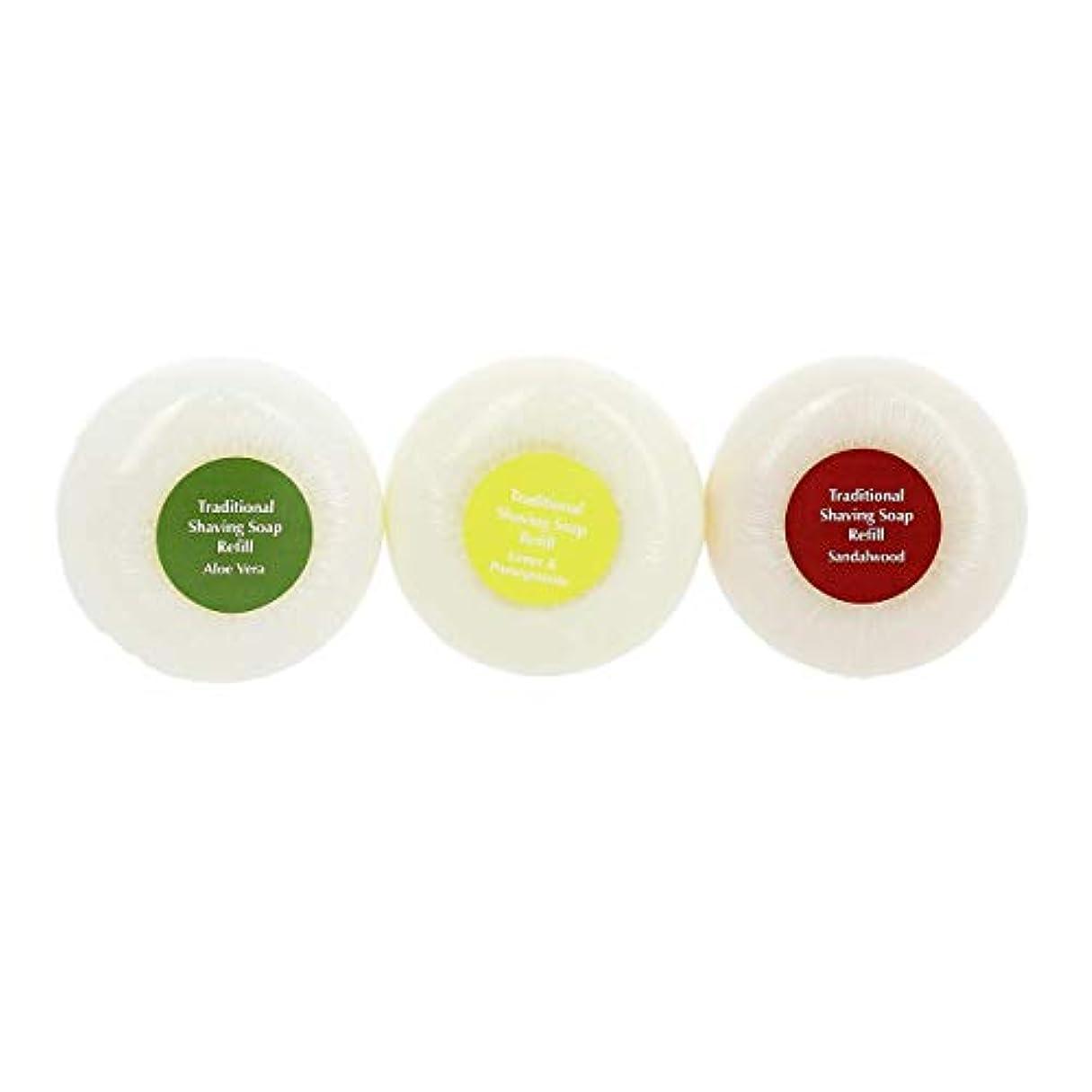 特権聖域きらめきエドウィンジャガー トラディショナルシェービングソープ 3パック[海外直送品]Edwin Jagger Traditional Shaving Soap 3 pack [並行輸入品]