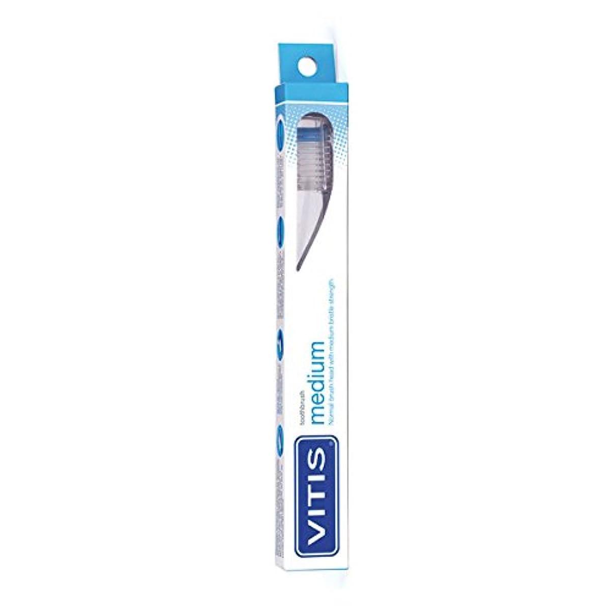 密接に望ましい怒ってVitis Medium Toothbrush [並行輸入品]