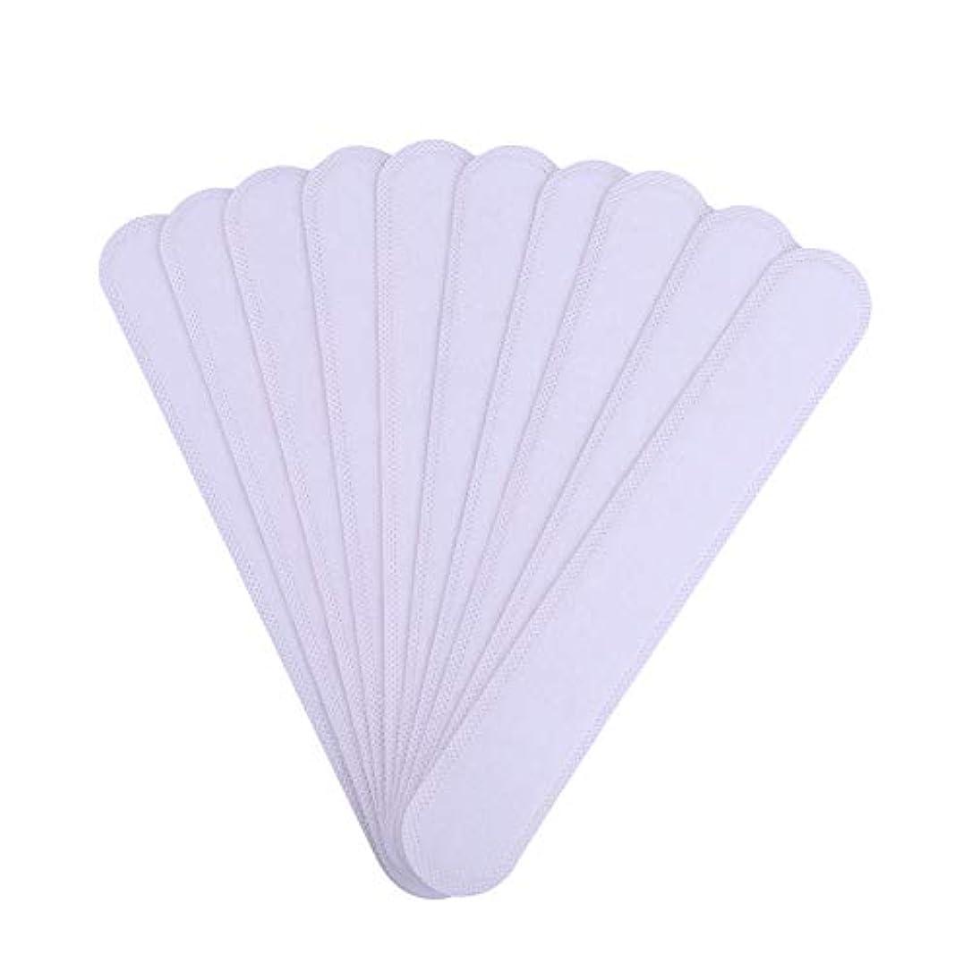 羊情報教義AMAA バッド 10枚入 使い捨てタイプ Yシャツ 帽子 汗染み 汗跡 予防 カラーネックライナーパッド (10枚)