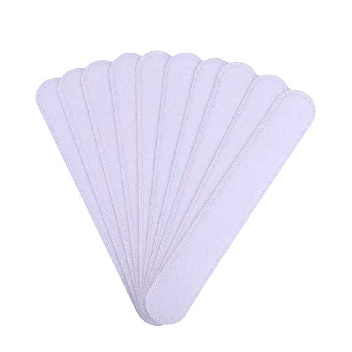 重要な予想外祈るAMAA バッド 10枚入 使い捨てタイプ Yシャツ 帽子 汗染み 汗跡 予防 カラーネックライナーパッド (10枚)
