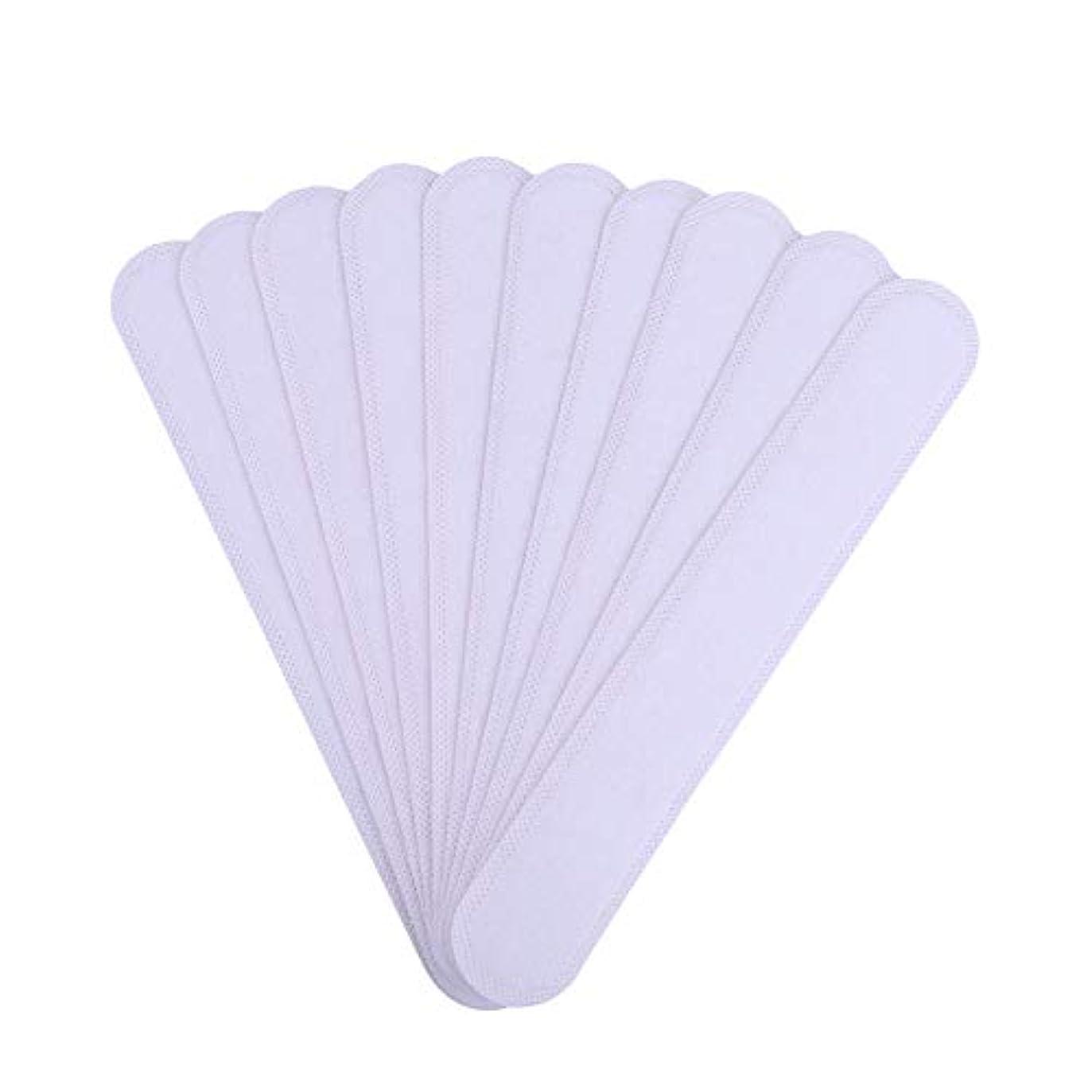 学者静けさ下着AMAA バッド 10枚入 使い捨てタイプ Yシャツ 帽子 汗染み 汗跡 予防 カラーネックライナーパッド (10枚)