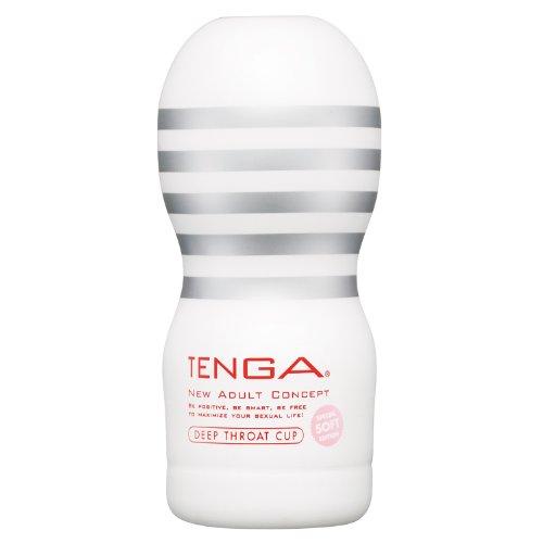 TENGA ディープスロート・カップ ソフト[SOFT] 【ねっとり吸いつく、絡みつく。至福のバキューム】
