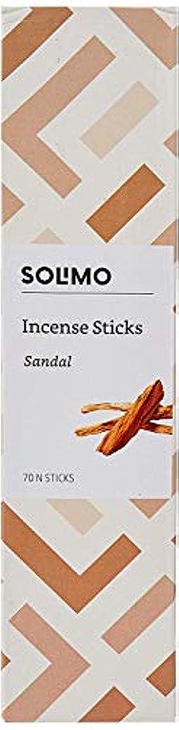 子供達人里離れた同時Amazon Brand - Solimo Incense Sticks, Sandal - 70 sticks/pack