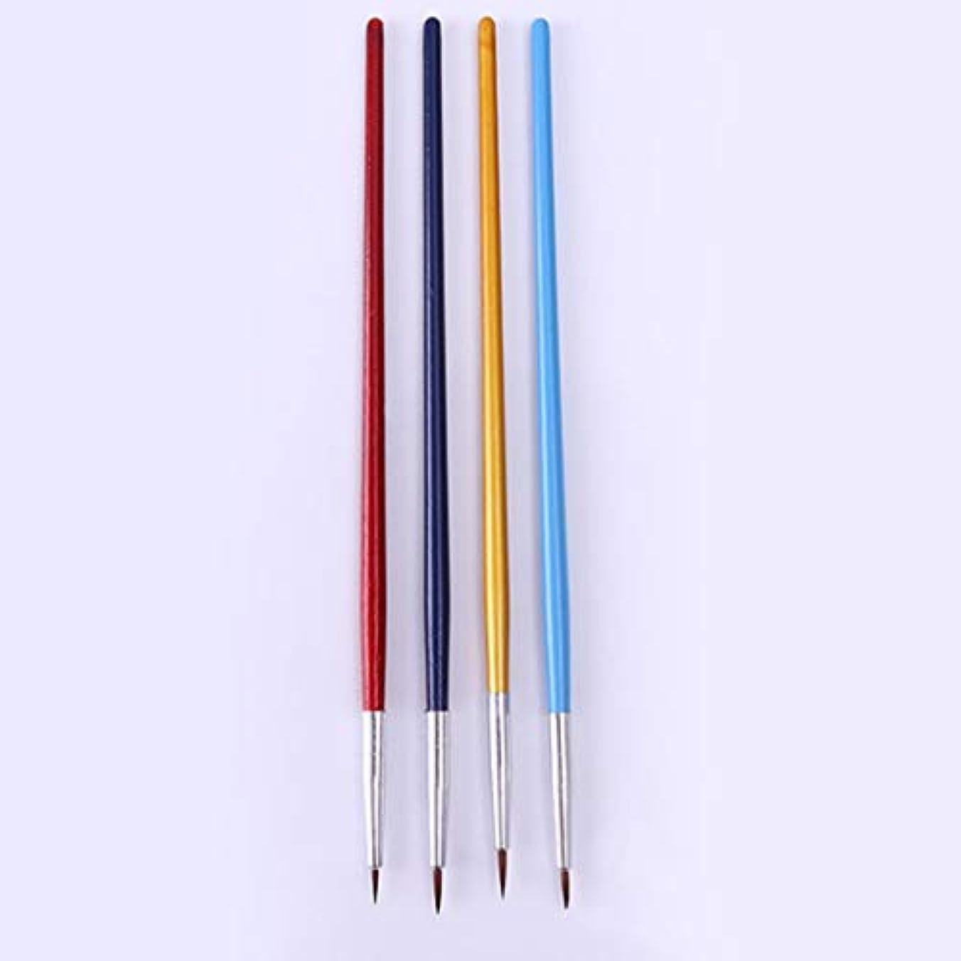 Yoshilimen 4つのブラシのブラシブラシをセットします(None Picture Color)