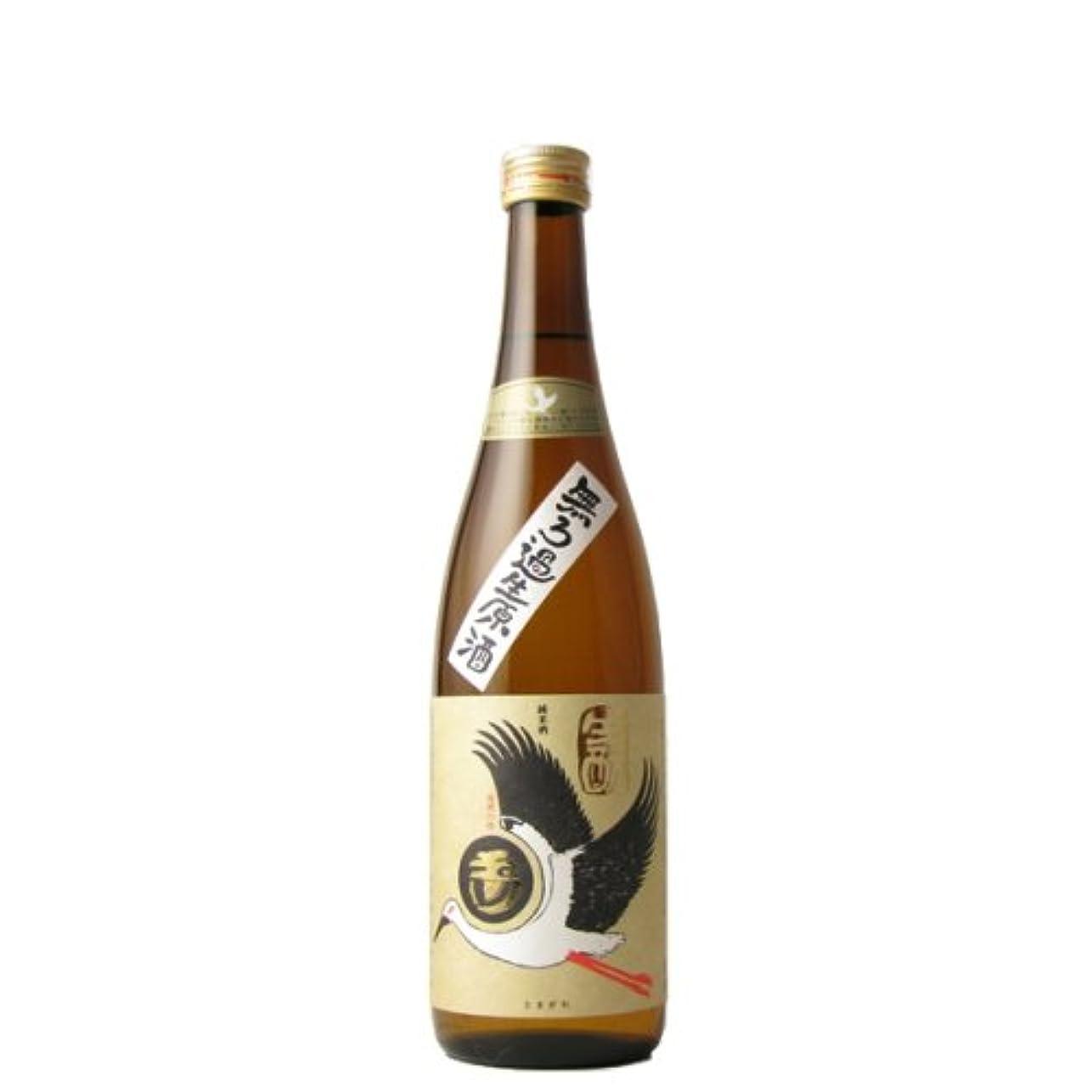サービスマリナー航空玉川 自然仕込 生もと純米酒コウノトリラベル 無濾過生原酒 720ml
