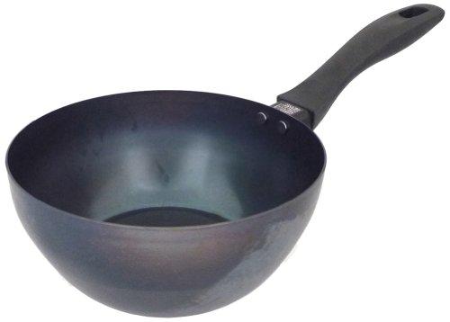 スイト こだわり職人 使いやすいふか~い鉄パン 20cm 004006