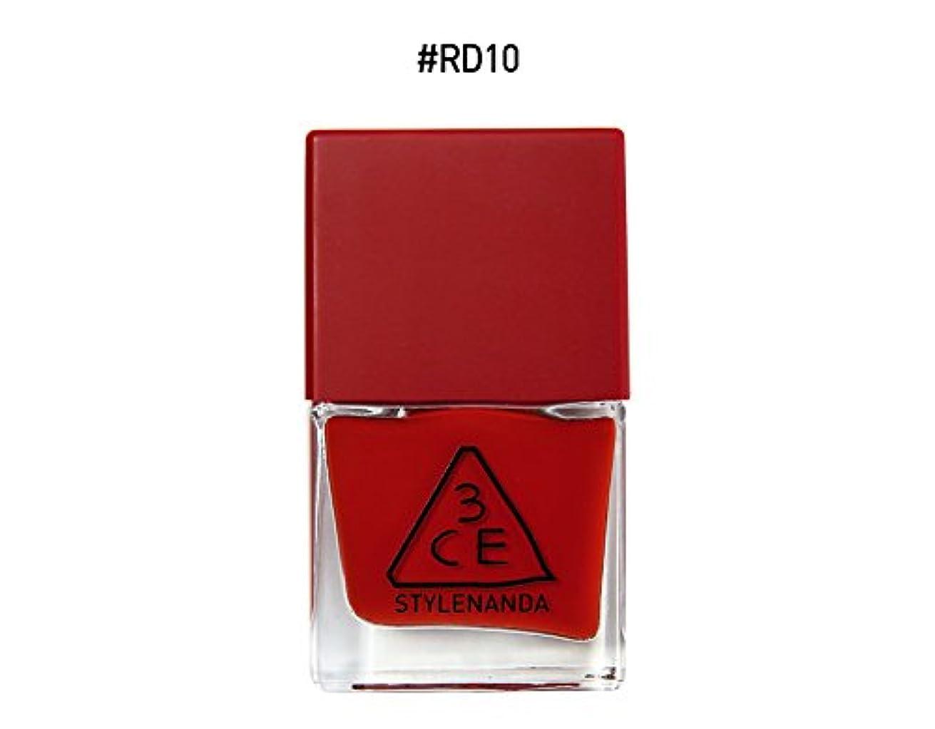 買収ペルーいらいらする3CE RED RECIPE LONG LASTING NAIL LACQUER/レッドレシピ ロングラスティング ネイルラッカー (RD10) [並行輸入品]
