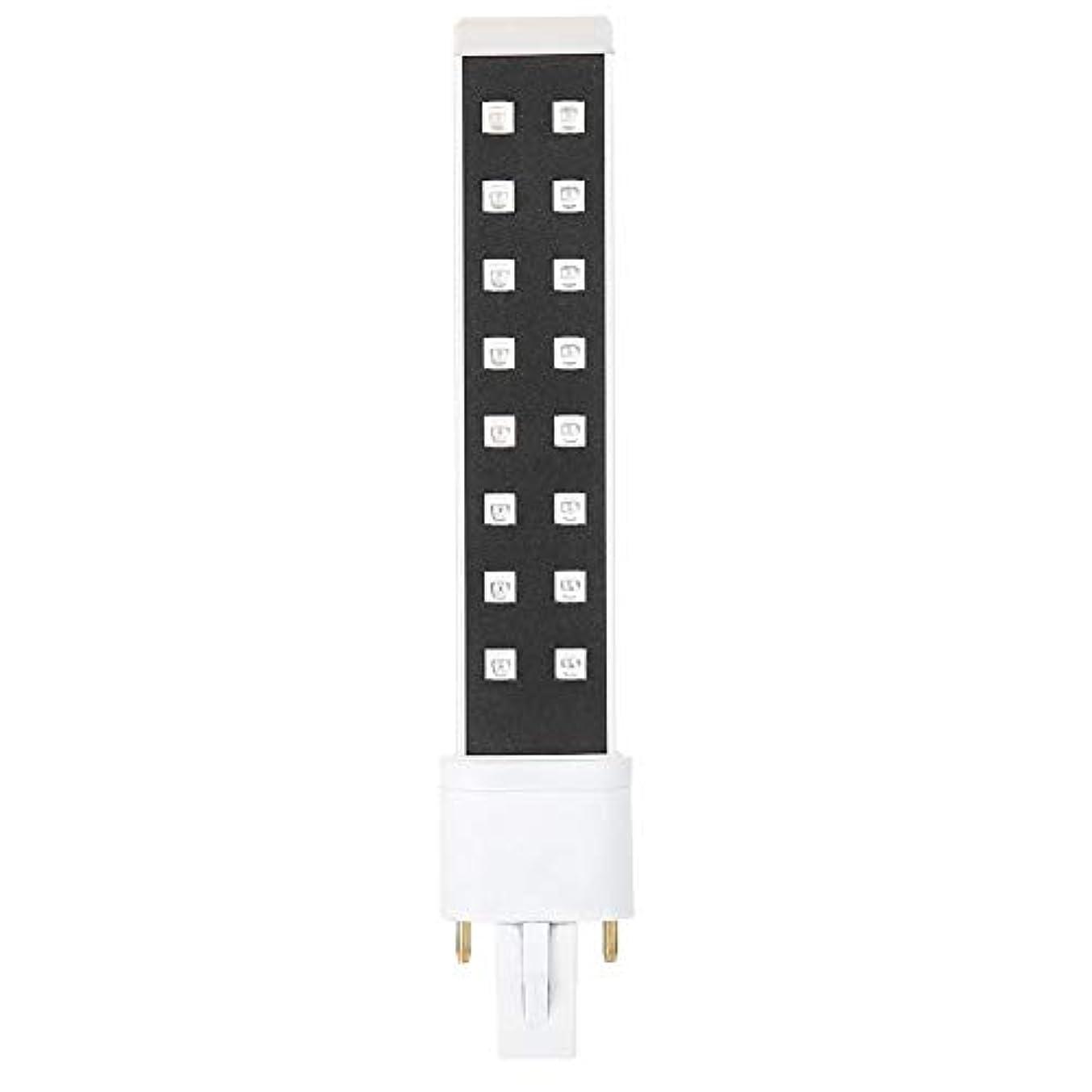 保証カメつかまえるUVネイルランプチューブ、ネイルドライヤー用の電球、395nmネイルアートジェル硬化ドライヤーライトチューブマニキュアツールの交換UVランプ電球