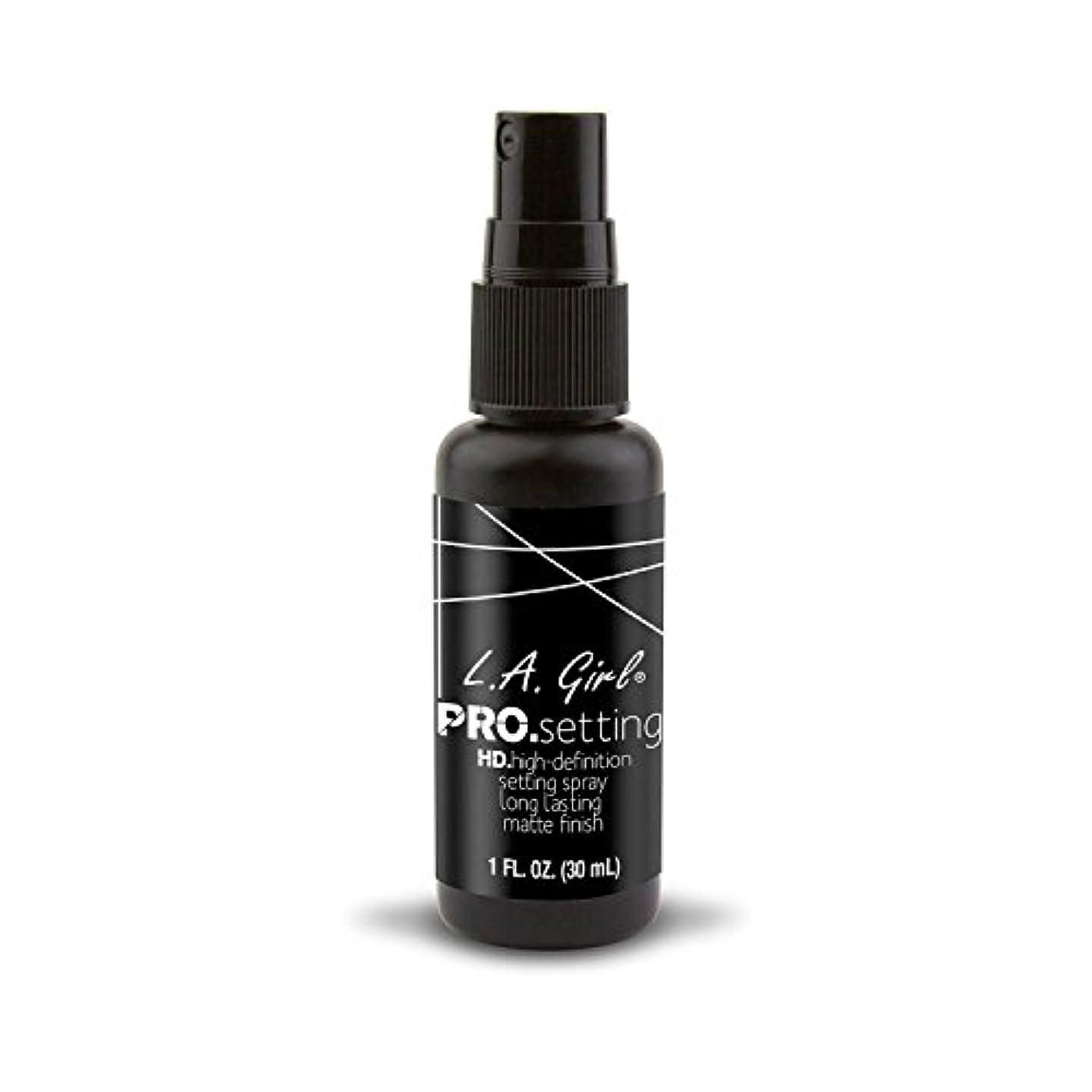 方法論ソビエト薄めるL.A. GIRL Pro Setting Spray - Matte Finish (並行輸入品)