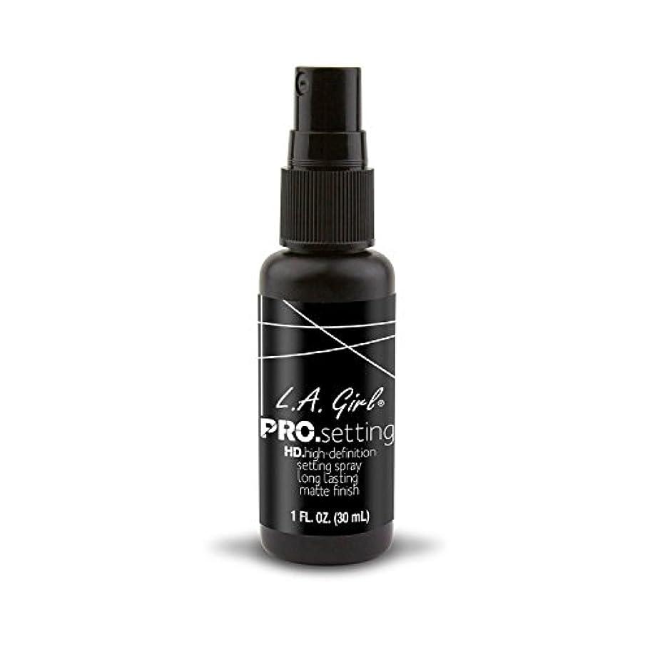 定期的接ぎ木封筒L.A. GIRL Pro Setting Spray - Matte Finish (並行輸入品)