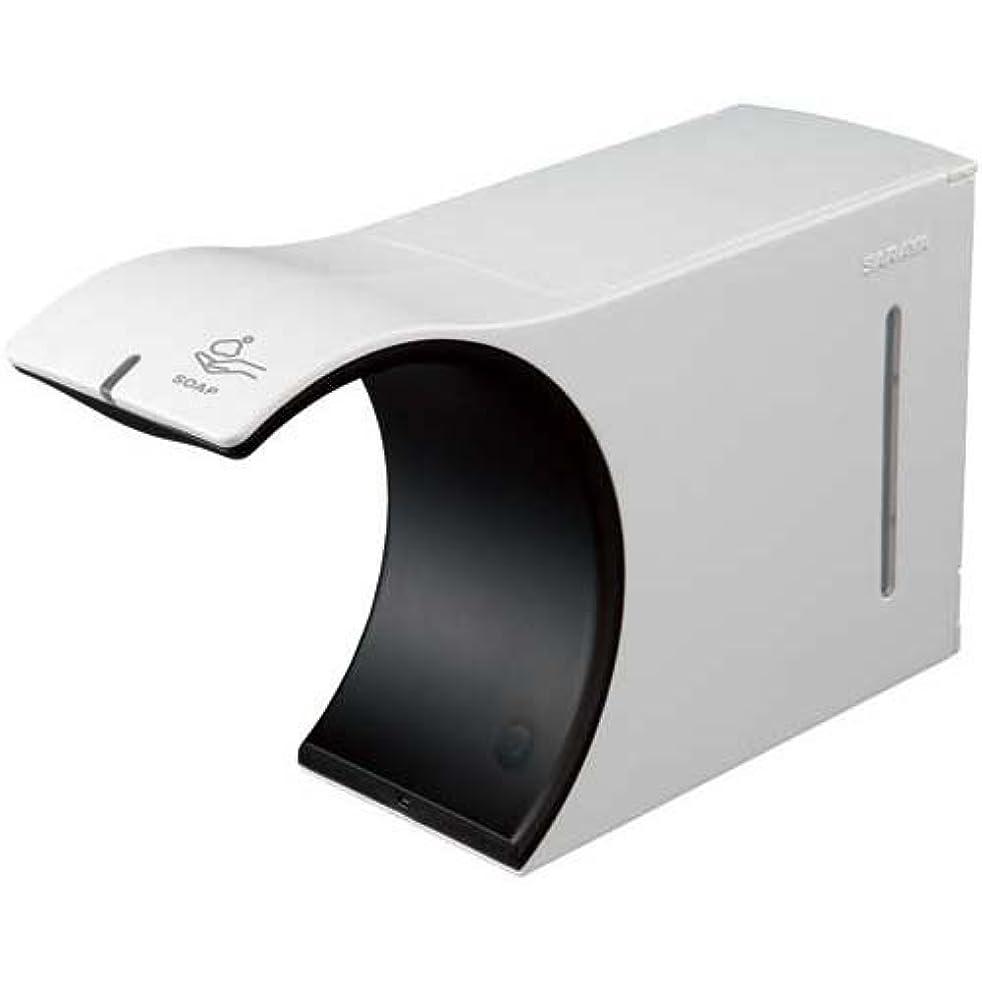 手のひらファウル菊ノータッチ式ディスペンサー エレフォーム UD-6000F
