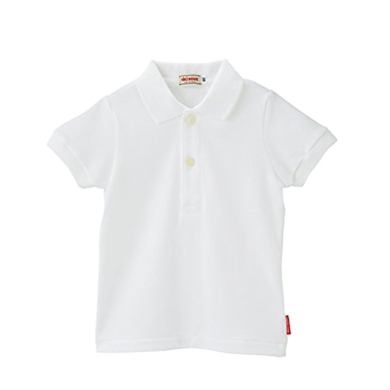 ミキハウス(MIKIHOUSE) Every Day mikihouse 半袖ポロシャツ 100 白(01)