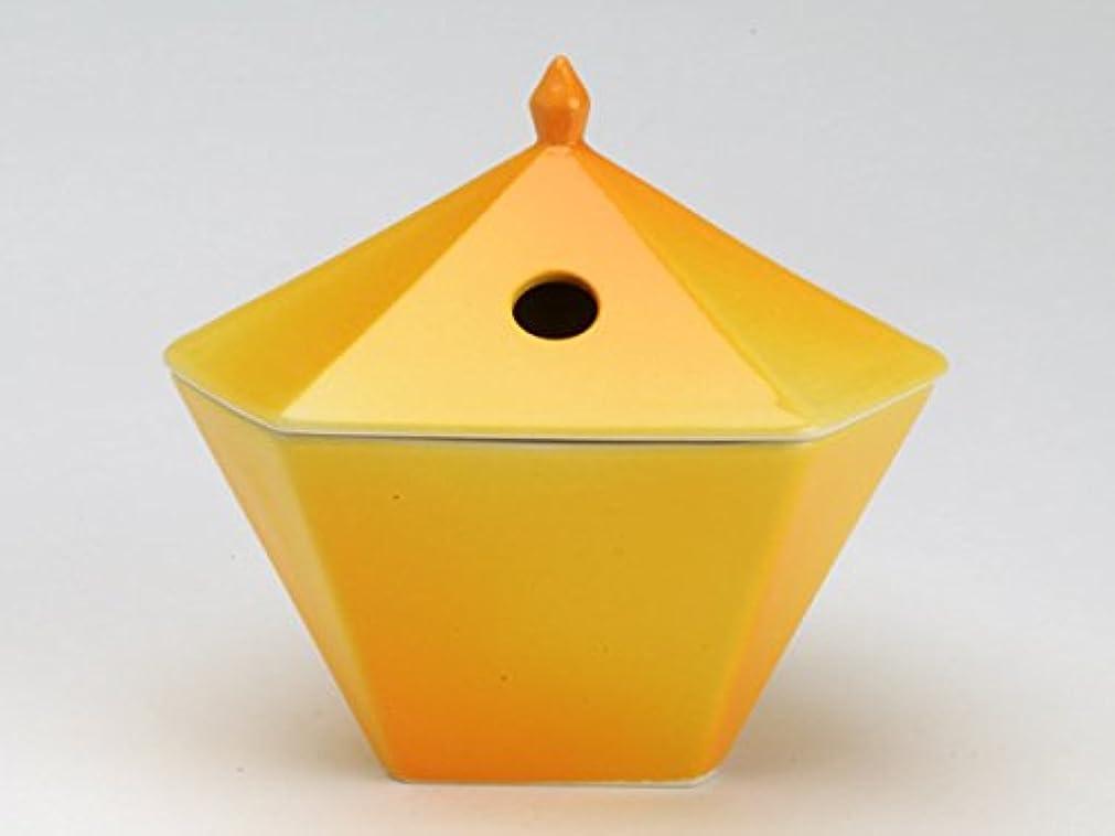 インゲン文言応用縁香炉 黄