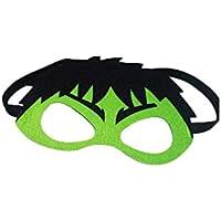 The Hulk Marvel Comic CartoonキッズコスチュームFeltマスクbyスーパーヒーローブランド