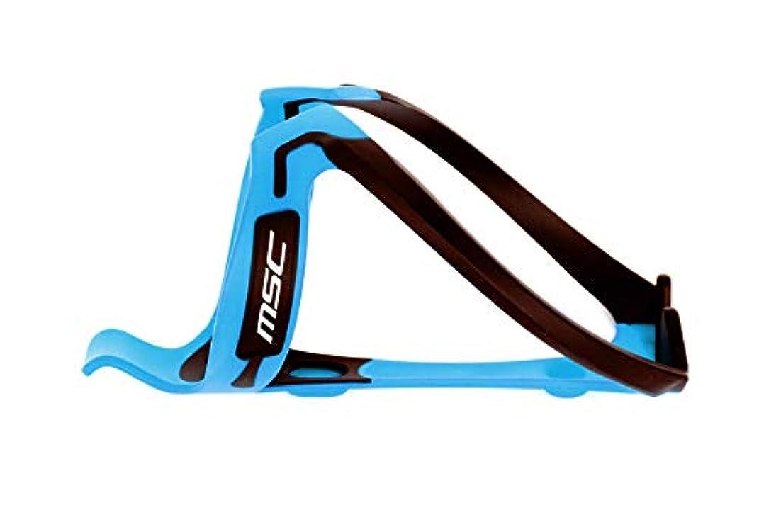ストラトフォードオンエイボン逃れる論理エムエスシーバイクス(Msc Bikes) ポリカーボネートボトルゲージ ブラック/ブルー MSC320BKBU ブルー