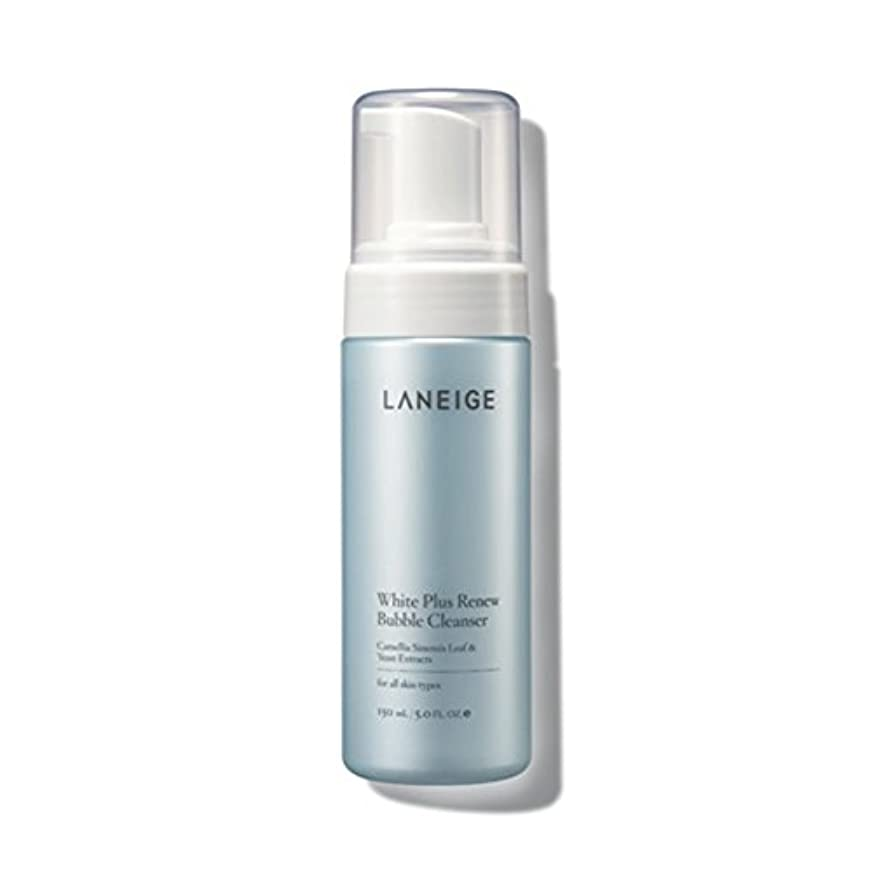 納税者一部ヘルメット[ラネージュ/LANEIGE] ホワイトプラスリニューバブルクレンザー/White Plus Renew Bubble Cleanser150ml+[Sample Gift](海外直送品)