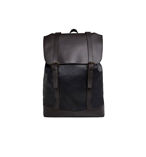 (エイソス) ASOS Leather backpack in...