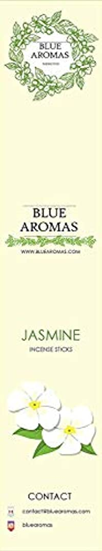 覚醒パシフィックむき出しBlue Aromas Jasmine Incense Sticks Agarbatti  Pack of 8, 10 Sticks in Each Pack Incense   Export Quality