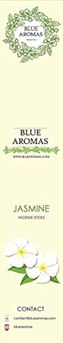 同性愛者労働者怒るBlue Aromas Jasmine Incense Sticks Agarbatti |Pack of 8, 10 Sticks in Each Pack Incense | Export Quality