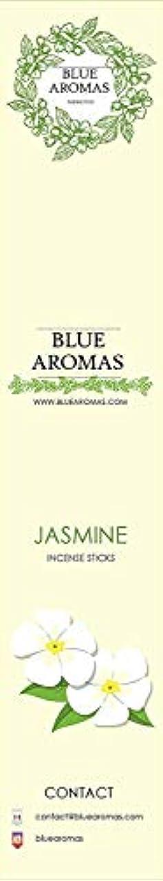 再撮り織機権威Blue Aromas Jasmine Incense Sticks Agarbatti  Pack of 8, 10 Sticks in Each Pack Incense   Export Quality