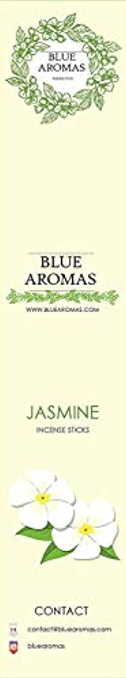 メニュースマイル翻訳者Blue Aromas Jasmine Incense Sticks Agarbatti |Pack of 8, 10 Sticks in Each Pack Incense | Export Quality