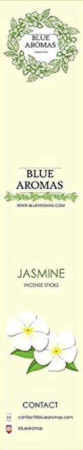 お互い美的最悪Blue Aromas Jasmine Incense Sticks Agarbatti |Pack of 8, 10 Sticks in Each Pack Incense | Export Quality