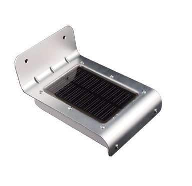 ソーラー充電式LED常夜灯 照度&人感センサー内蔵(屋外仕様)  APIソーラーモーションライト