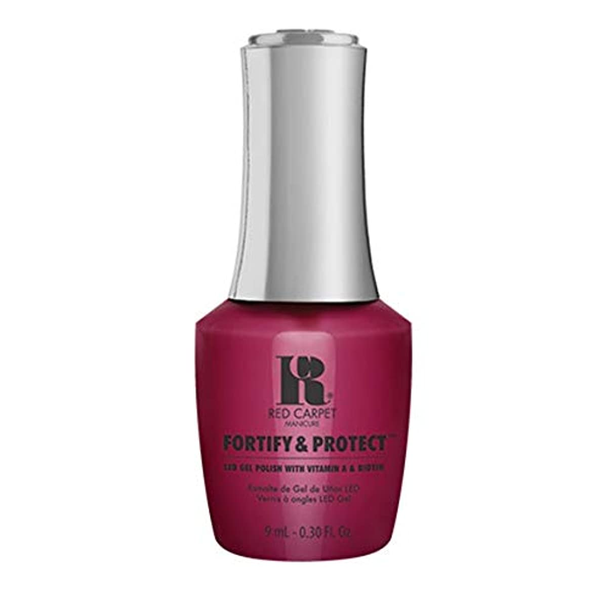 怪物ガチョウ路面電車Red Carpet Manicure - Fortify & Protect - Runway Darling - 9ml / 0.30oz