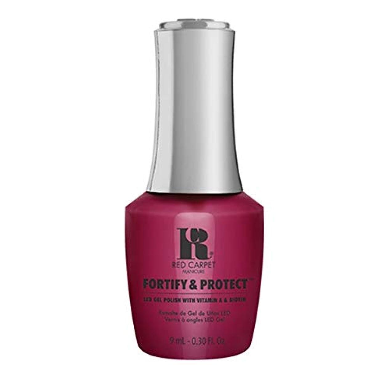 腐敗ゲージ盲目Red Carpet Manicure - Fortify & Protect - Runway Darling - 9ml / 0.30oz