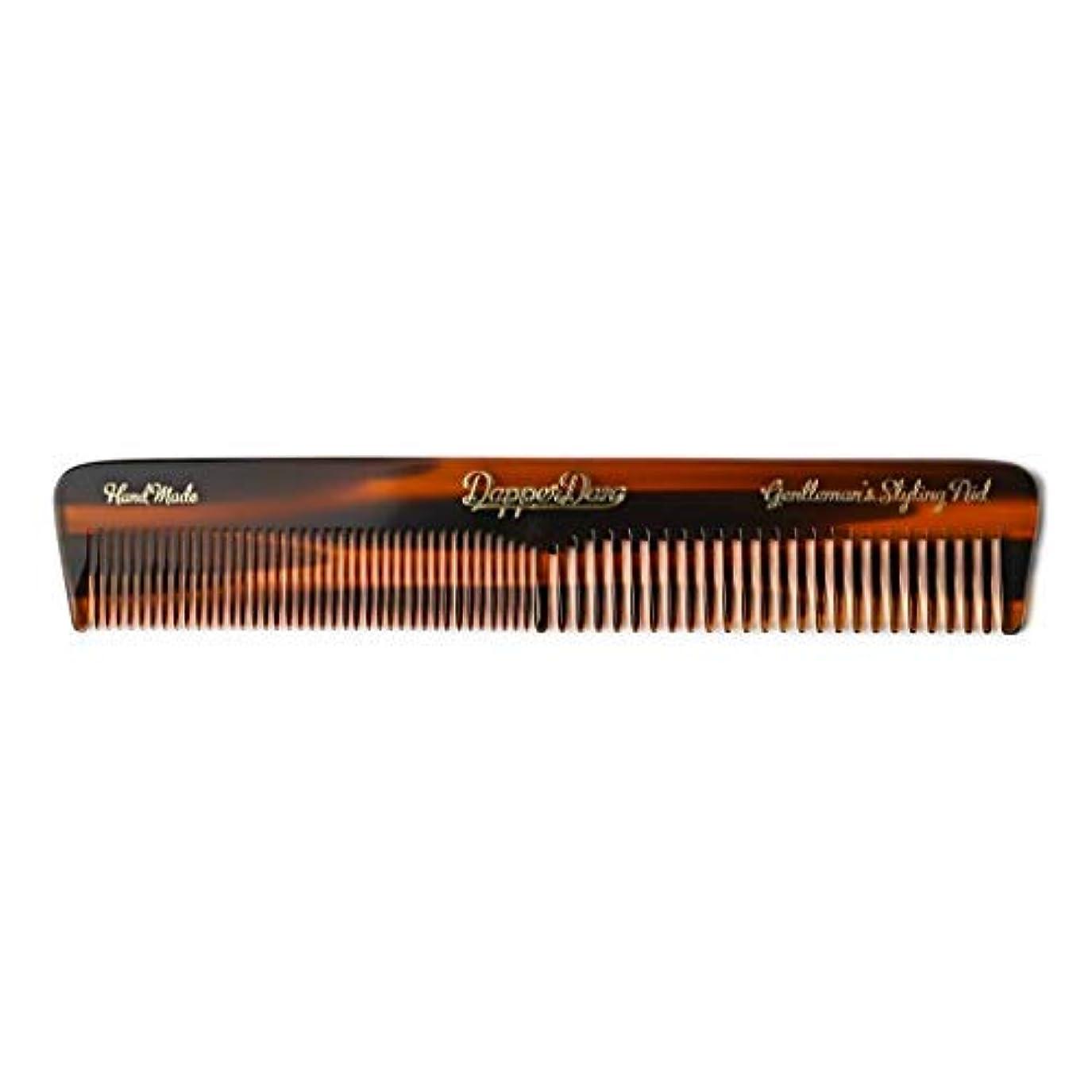 ライン粗い添加剤Dapper Dan Hand Made Pocket Comb [並行輸入品]