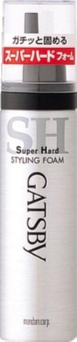 パットウィザード政治家のギャツビー スタイリングフォーム スーパーハード(ハンディ) 65g