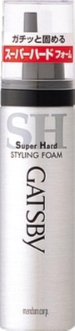 シェード保持スラダムギャツビー スタイリングフォーム スーパーハード(ハンディ) 65g