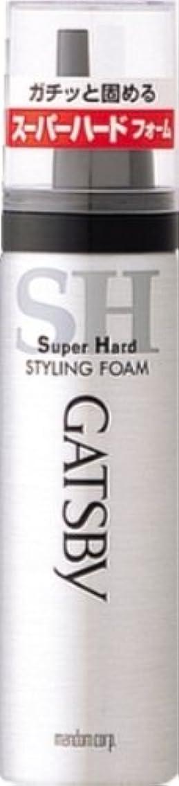 知覚できる展開するグレードギャツビー スタイリングフォーム スーパーハード(ハンディ) 65g