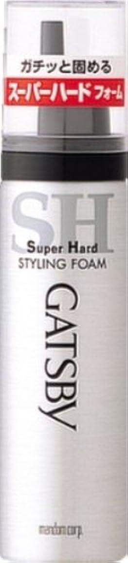 スローガンクスクス歌うギャツビー スタイリングフォーム スーパーハード(ハンディ) 65g