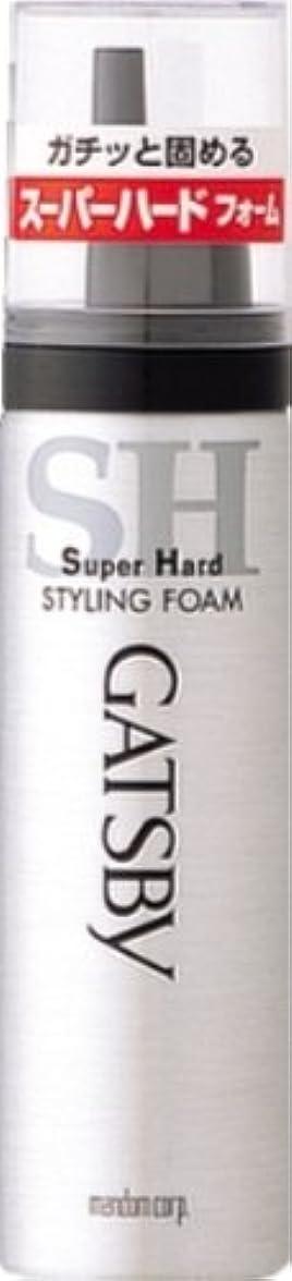 シュガー破壊するめったにギャツビー スタイリングフォーム スーパーハード(ハンディ) 65g