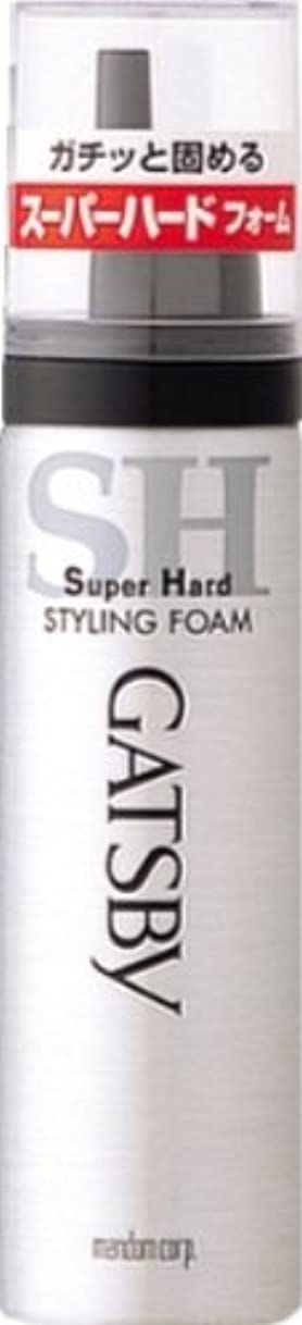 腐った台風湾ギャツビー スタイリングフォーム スーパーハード(ハンディ) 65g