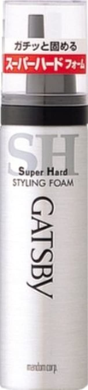 自体いう意図的ギャツビー スタイリングフォーム スーパーハード(ハンディ) 65g